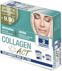 COLLAGEN ACT - TRATTAMENTO VISO IN 2 FASI