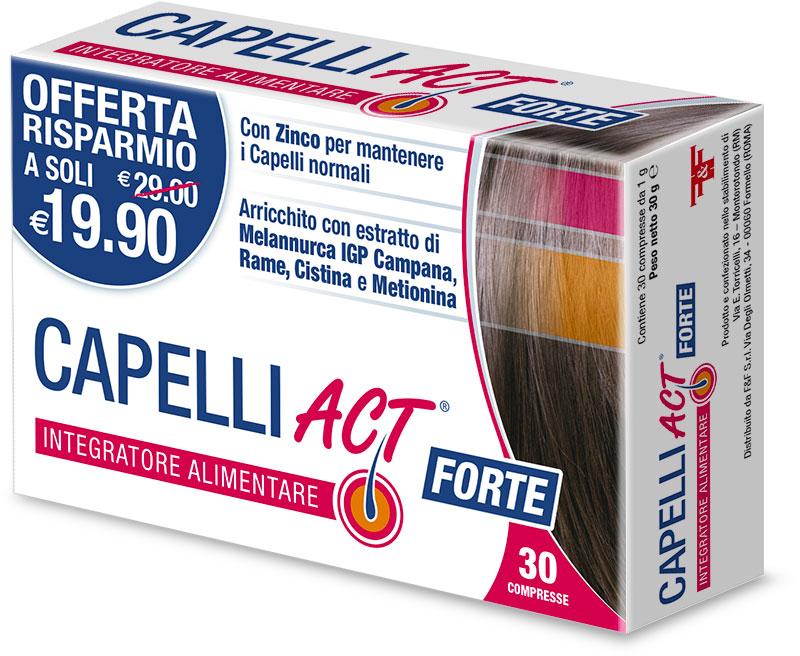 CAPELLI ACT FORTE - 30 COMPRESSE