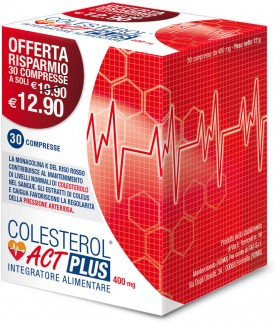 COLESTEROL ACT PLUS 400mg - 30 compresse