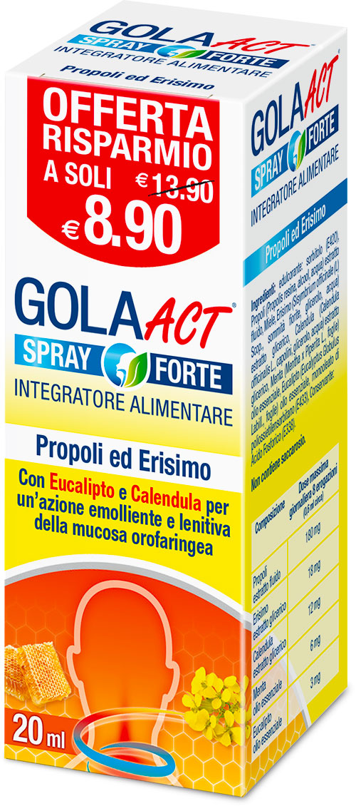 GOLA ACT SPRAY FORTE