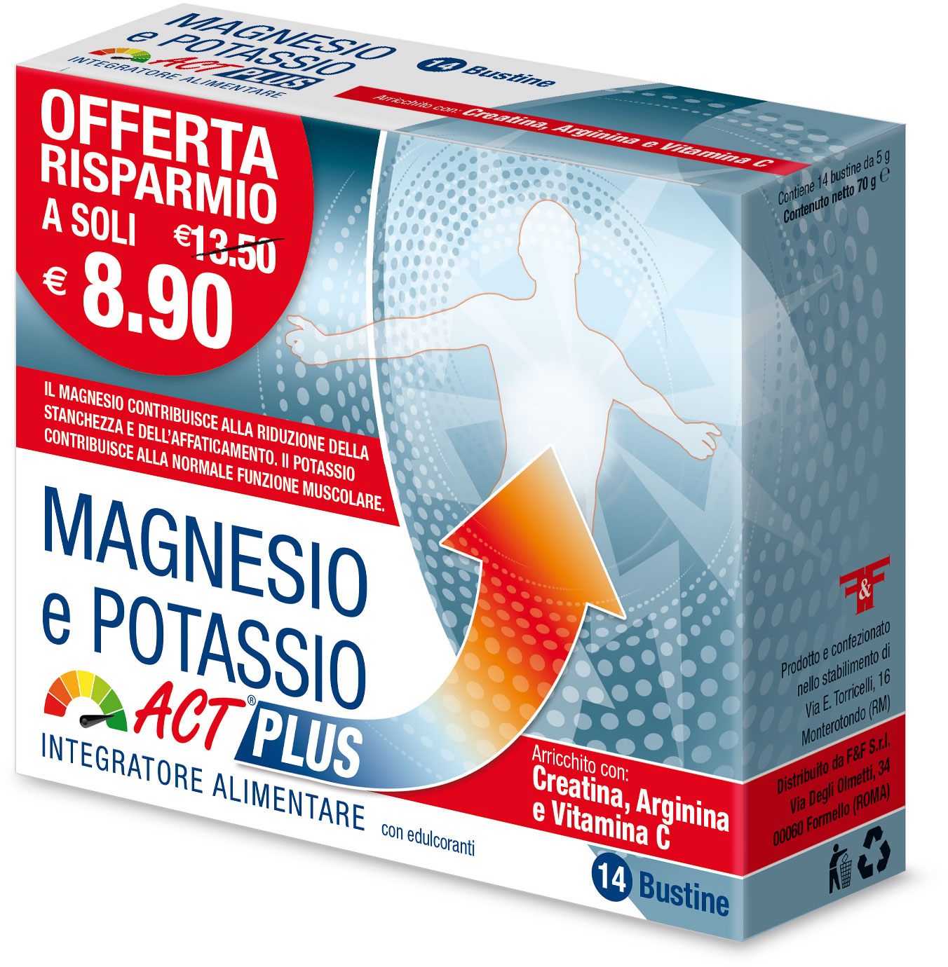 MAGNESIO E POTASSIO ACT PLUS